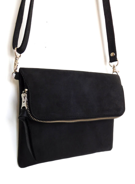 Saddle Bag Mini - Natural Black - Allow 4-5 weeks for delivery