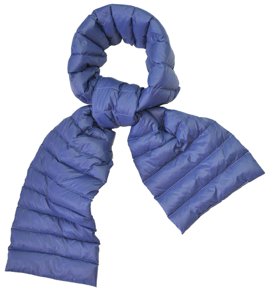 Duck Down Scarf - Blue  - ETA Aug 22