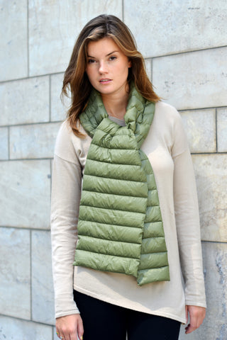 Duck Down Scarf - Green