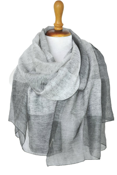 Silk w Wool Shadowbox - Dark Gray