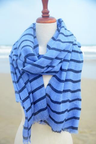 Baltic Stripe - Blue