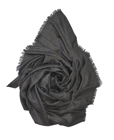Oversized Modal Solid Scarf in Charcoal - ETA Dec 30