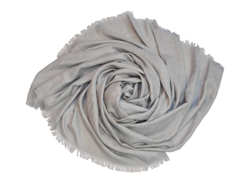 Oversized Modal Solid Scarf in Light Gray