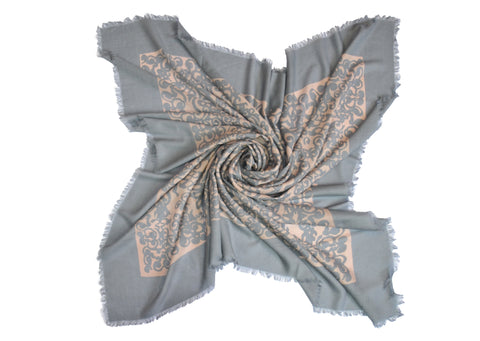 Merino Medici Scroll - Taupe