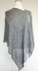 Cashmere w Merino Knit Top in Light gray