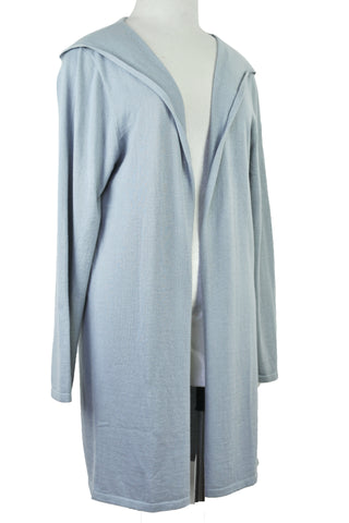 Cotton w Cashmere Bergen Wrap - Saltmarsh