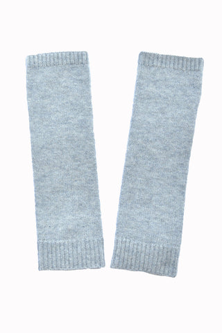 End of dye lot sale - Cashmere Merino Knitr Sleeves - Light Gray