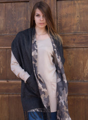 Two pocket merino shawl - ETA Jul 30