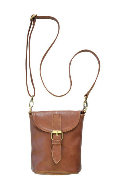 Mini Field Bag - Soft Medium Brown - Allow 4-5 weeks for delivery