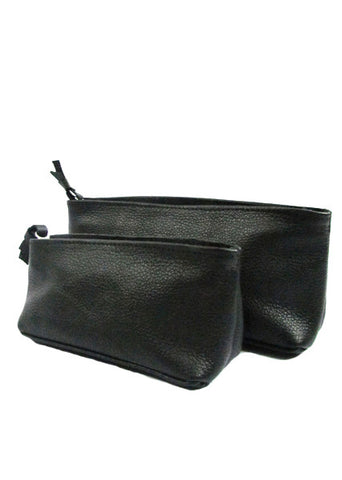 Pyramid Small Leather Pouch