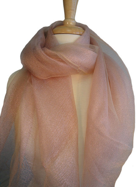 Silk w/ Lurex Sparkle - Pink