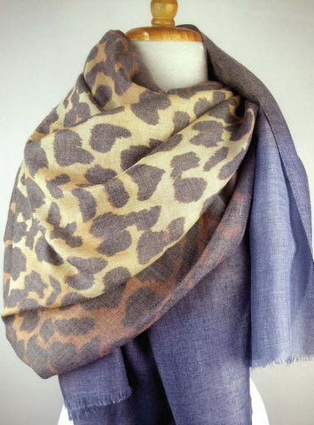 Almost Perfect - Modal Animal Print - Blue