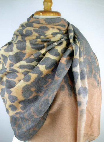 Almost Perfect -  Modal Animal Print - Camel