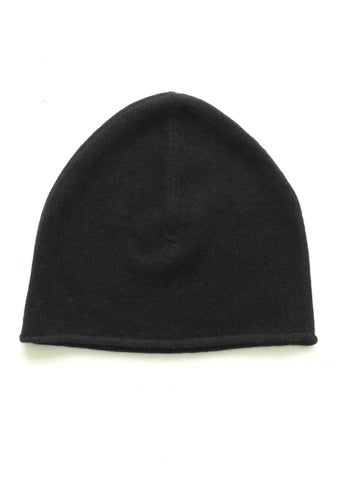 Cashmere w merino knit cap - Black - ETA Dec 18