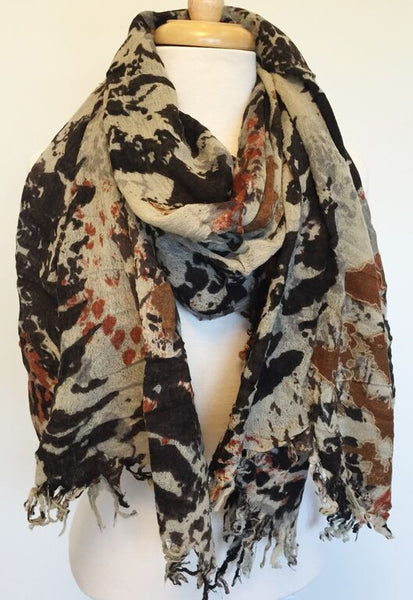 Merino Wool Scarf - Wyoming
