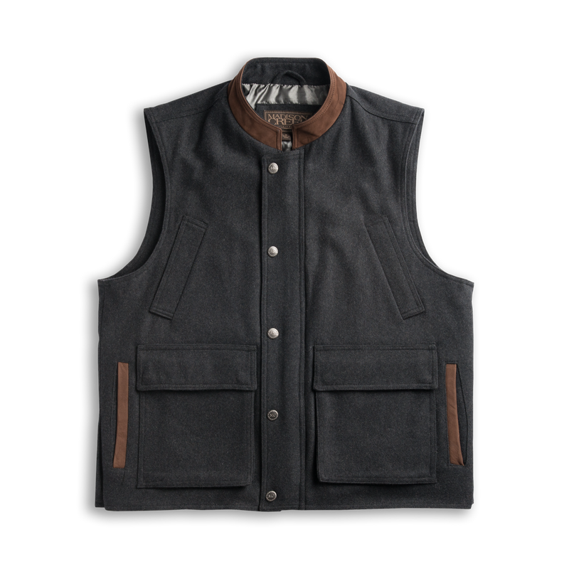 Wool Ranch Vest