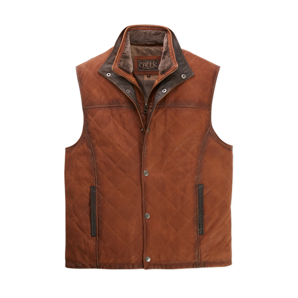 Beaver Creek Leather Vest