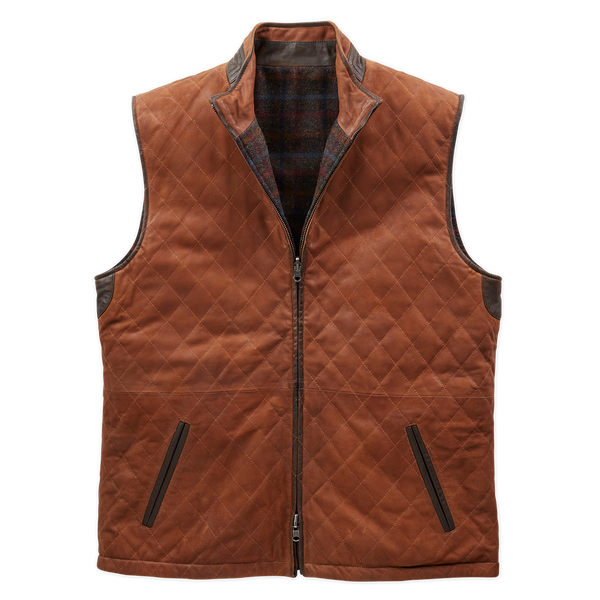 Oxford Reversible Leather Vest