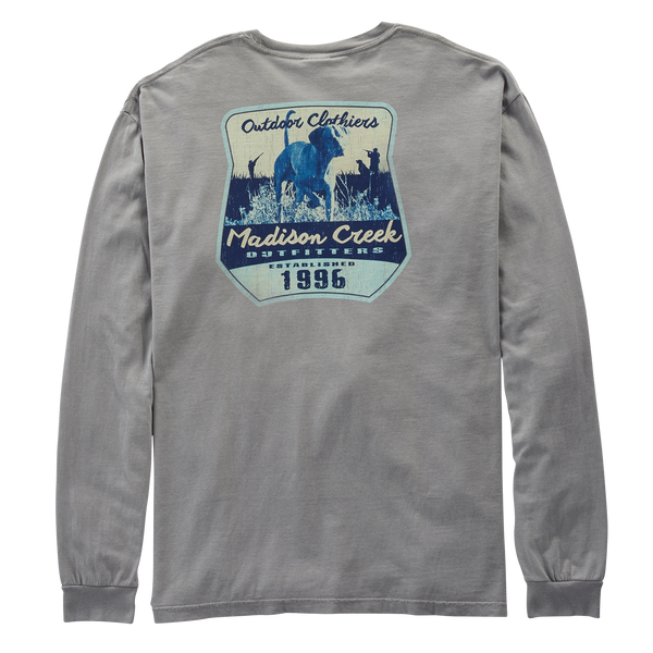 Bomber Hunting Dog Long Sleeve Tee Shirt
