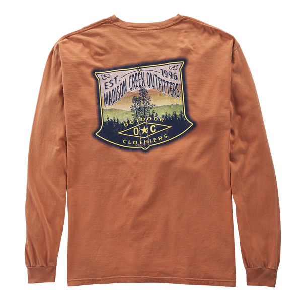 Great Outdoors Vintage Long Sleeve Tee Shirt