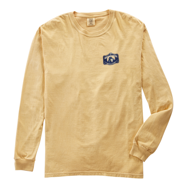 Labs with Vintage Truck Long Sleeve Tee Shirt