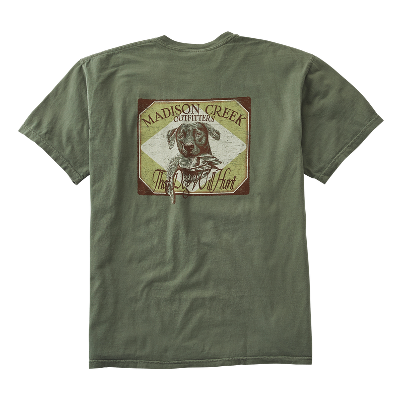Dog Will Hunt Vintage Tee Shirt