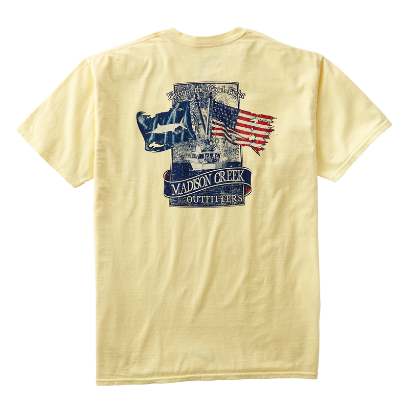 Fightn' the Good Fight Vintage Tee Shirt