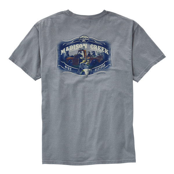 Labs with Vintage Truck Tee Shirt