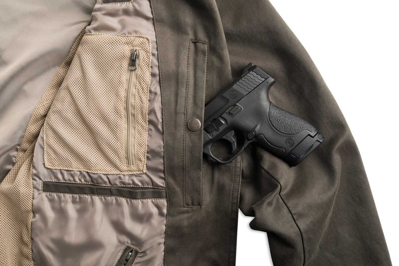 Tombstone Conceal Carry Travel Jacket