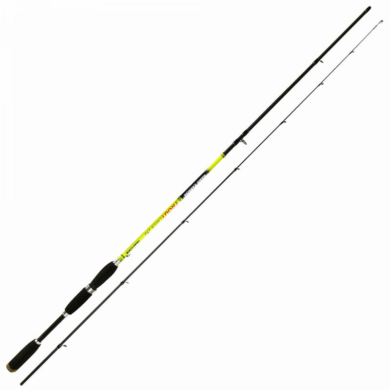 Trout Catch Nano Carbon Forellenrute 2,70m 2-tlg. 3-10g