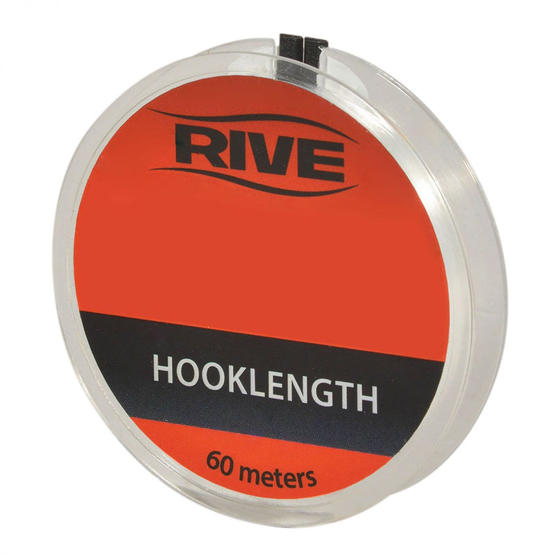 Vorfachschnur Hooklength transparent line 0,