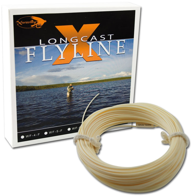 X-Version Fly Flueline Longcast-X Flyline WF-4F