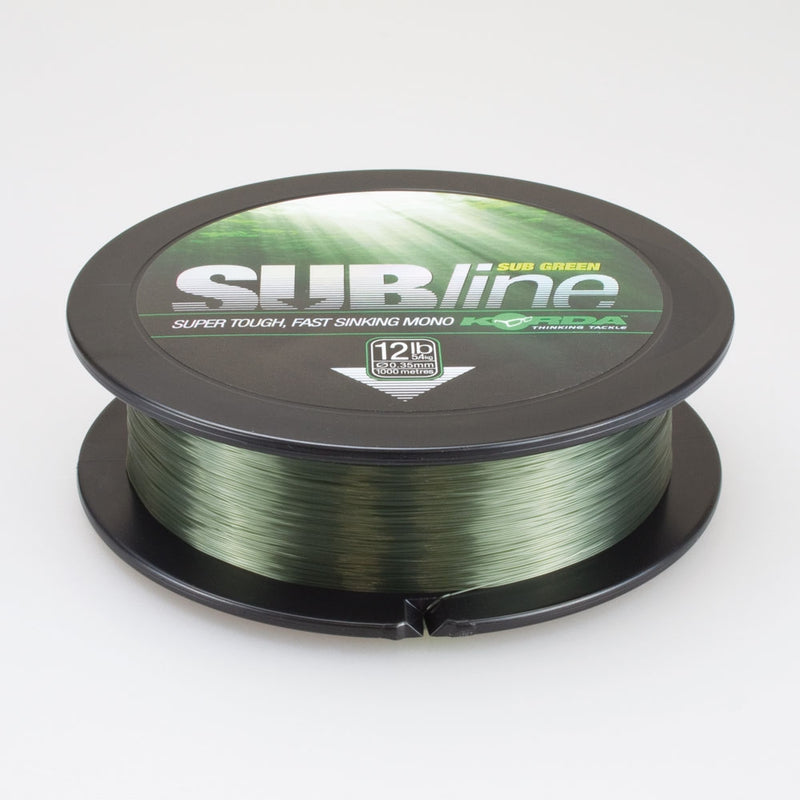 SUBline 1000m 15lb 0,40mm Green