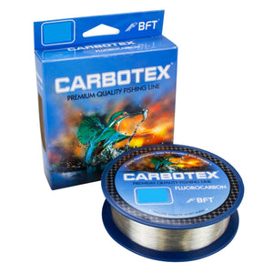 Carbotex Fluorocarbon Transparent Usynlig0,16mm