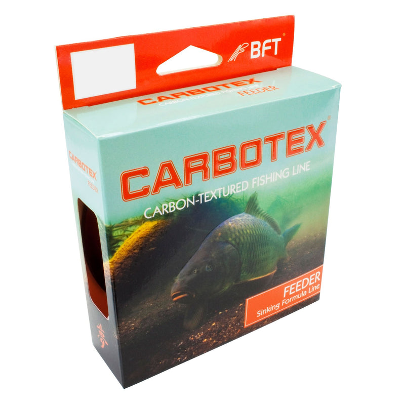 Carbotex Feeder Synkende Fluo Orange 250m