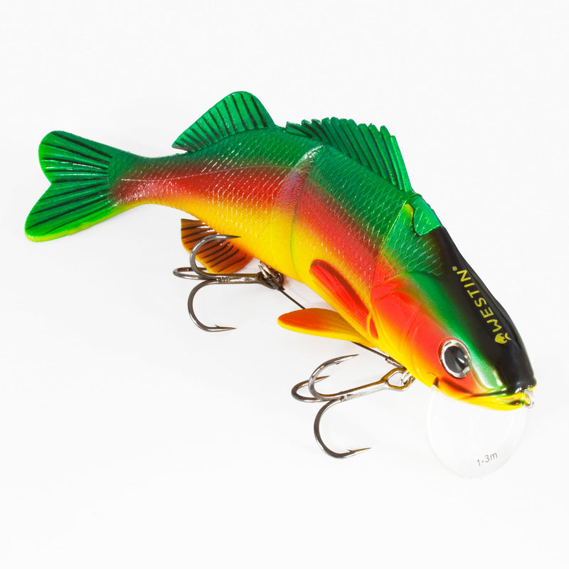 Percy the Perch Real Swimbait Low Floating Parrot Special 20cm 100g