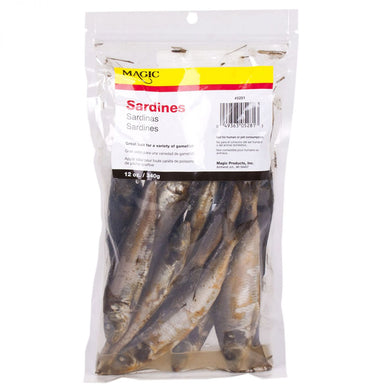 Preserved Sardines 12 oz Bag