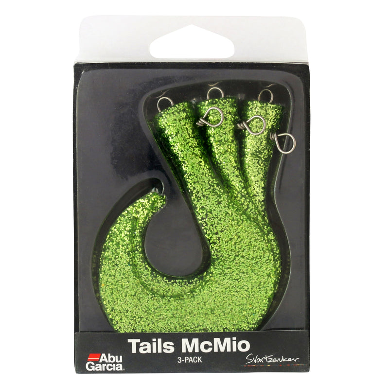 Svartzonker McMio Spare Tails 3er-Pack PAP green