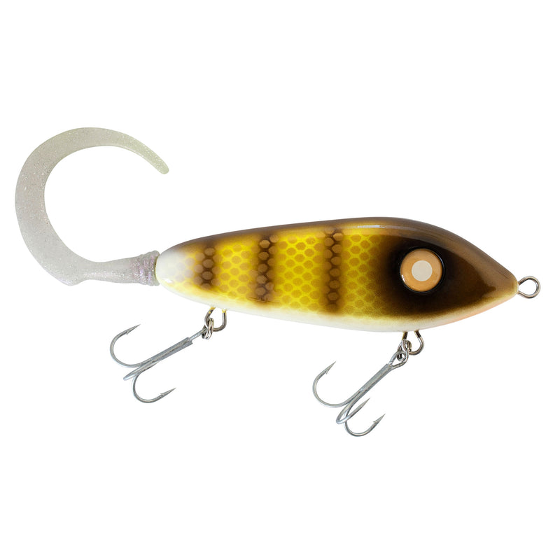 Svartzonker Jerkbait Big McMy Tail 25cm 78g Walleye