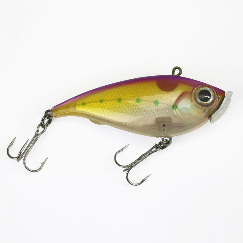 Catchslide Bottom Seeker sinking 7,5cm lila gelb pearl