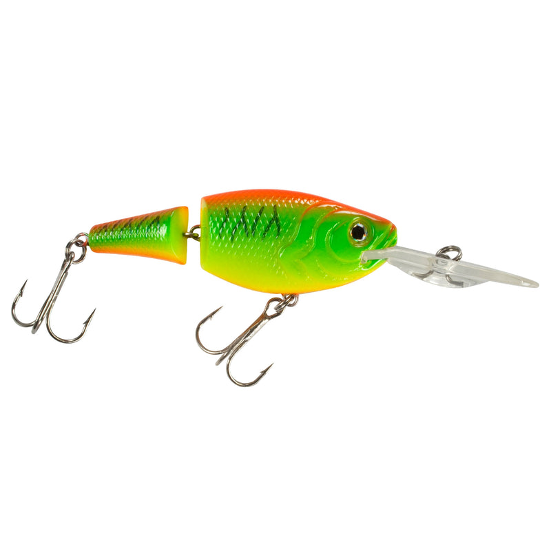 Jointed Shad DR Wobbler toxin green