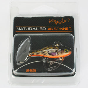 Roy Fishers Natural 3D Jig Spinner 26g