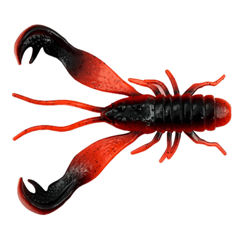 LMAB Finesse Filet Craw 10cm Red Craw, 8 g - 3 Stück