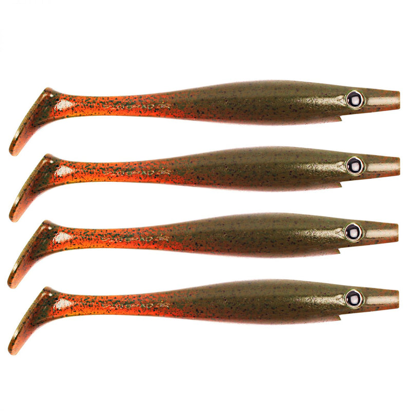 Pig Shad Junior 15cm Motor Oil Pepper