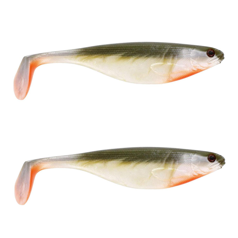 Westin ShadTeez 12cm Bass Orange Gummifische, 15g - 2Styck