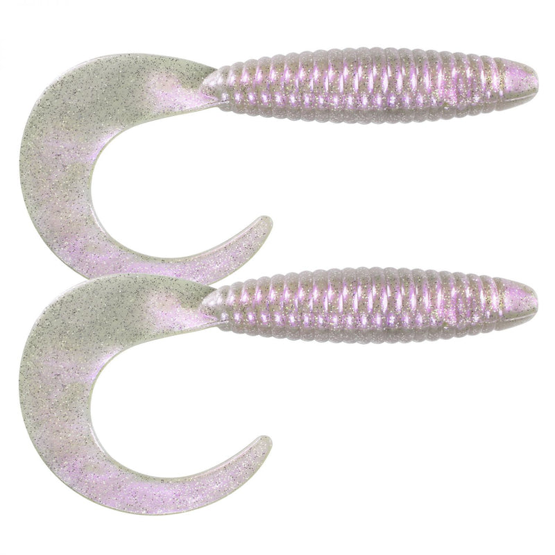 Big Tail Grub Twister 33,0cm 2er Pack C4 Pearl White