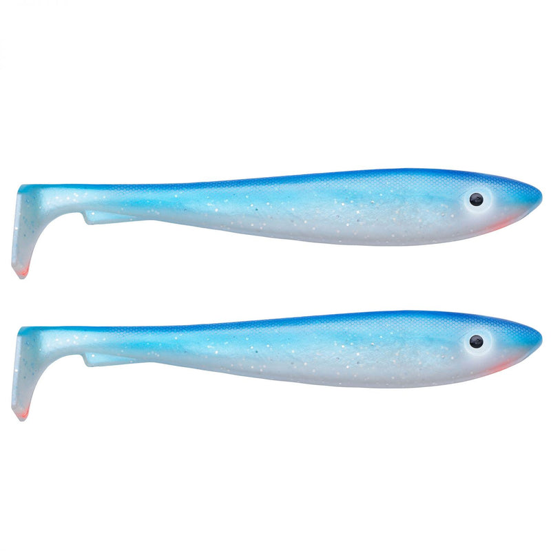 McRubber Shad 29cm 2er Pack C6 Bluepearl