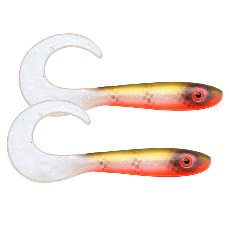 McRubber Tail Twister 34cm 2er Pack C15 Tiger Walleye