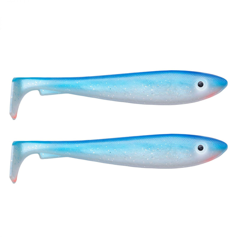McRubber Shad 23cm 2er Pack C6 Bluepearl