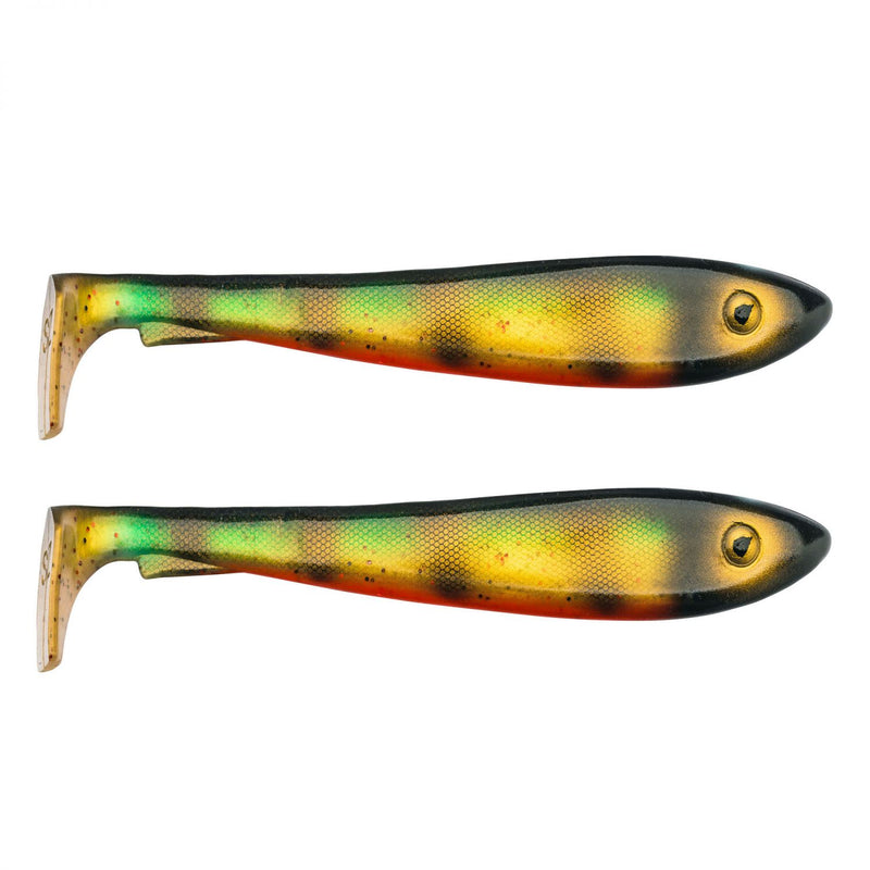 McRubber Shad 23cm 2er Pack C28 Old School Perch